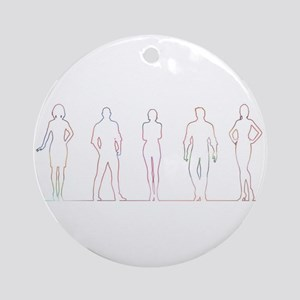 Human Resources Department Round Ornament