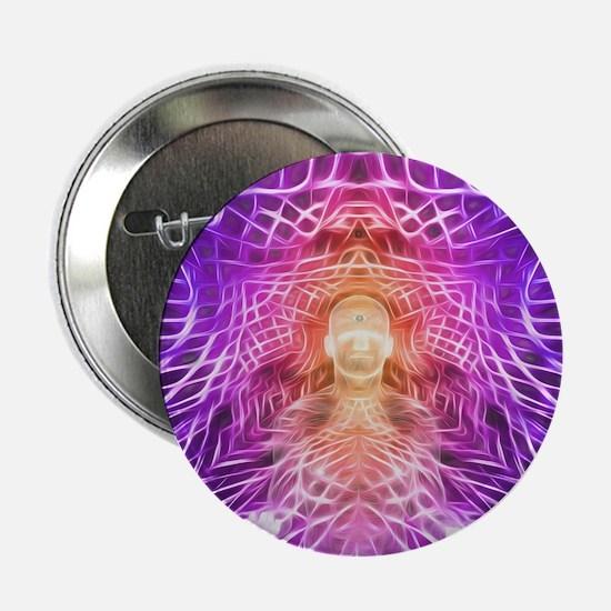 "Third Eye contimplation 2.25"" Button (10 pack)"