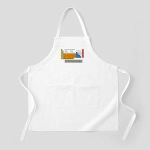 Periodic Table  BBQ Apron