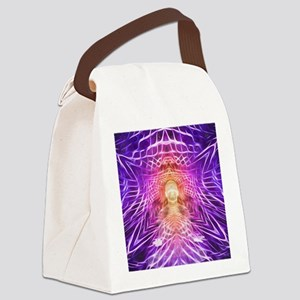 Third Eye contimplation Canvas Lunch Bag