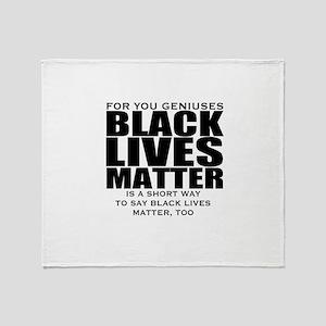 African American Throw Blanket