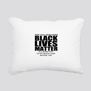 African American Rectangular Canvas Pillow