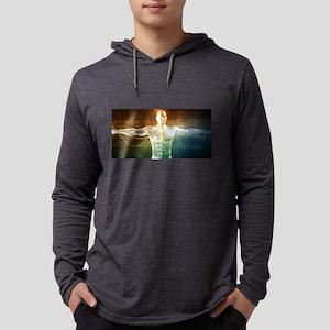 Internet Backgroun Long Sleeve T-Shirt