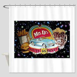 Mr. D'z Route 66 Kingman Shower Curtain
