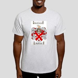 McFarland Family Crest White T-Shirt