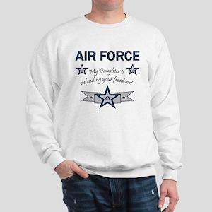 Air Force Daughter defending Sweatshirt
