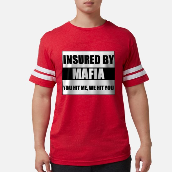 Insured By Mafia Ash Grey T-Shirt