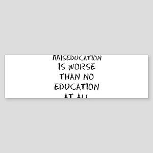 Black American Bumper Sticker
