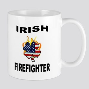 Irish USA Firemen Mug