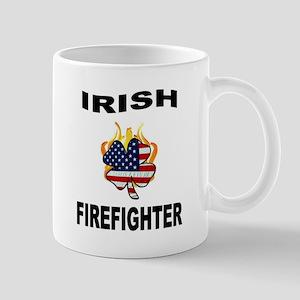 Irish USA Firemen Mug