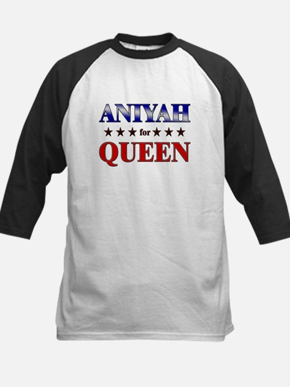 ANIYAH for queen Kids Baseball Jersey