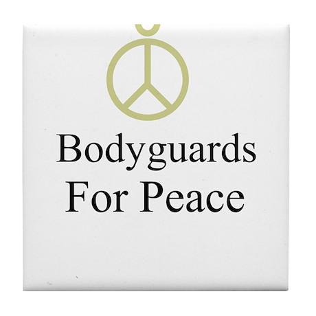 Bodyguards Tile Coaster