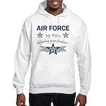 Air Force Wife defending Hooded Sweatshirt
