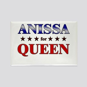 ANISSA for queen Rectangle Magnet