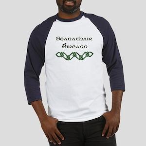 'Irish Grandfather' (Gaelic) Baseball Jersey