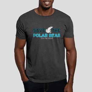 Save the Polar Bear Dark T-Shirt