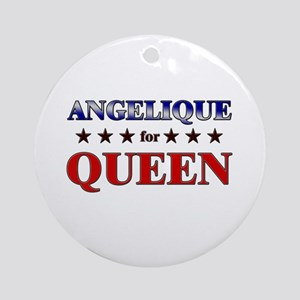 ANGELIQUE for queen Ornament (Round)