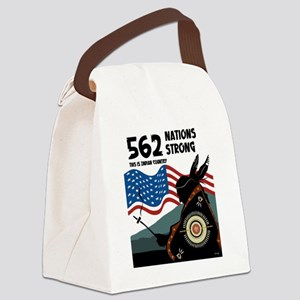 500 Nations (5x5) Canvas Lunch Bag