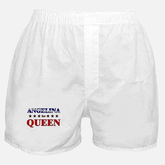 ANGELINA for queen Boxer Shorts
