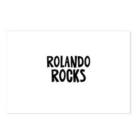 Rolando Rocks Postcards (Package of 8)