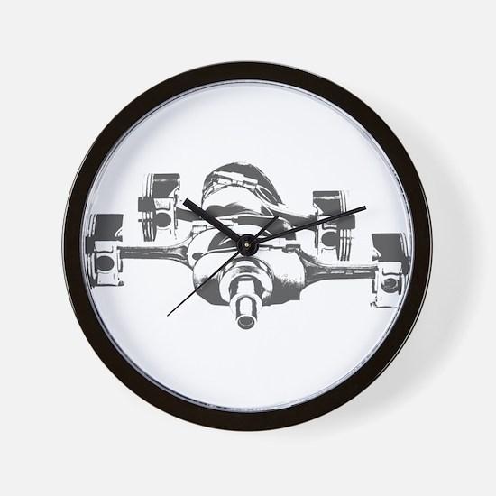 """""""Boxer 4"""" Wall Clock"""