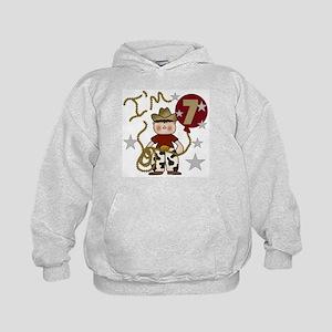 Cowboy 7th Birthday Sweatshirt