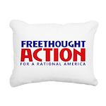 FreethoughtAction Logo Rectangular Canvas Pillow