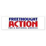 FreethoughtAction Logo Bumper Sticker
