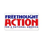 FreethoughtAction Logo Aluminum License Plate