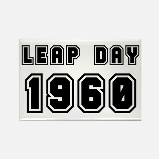 LEAP DAY 1960 Rectangle Magnet