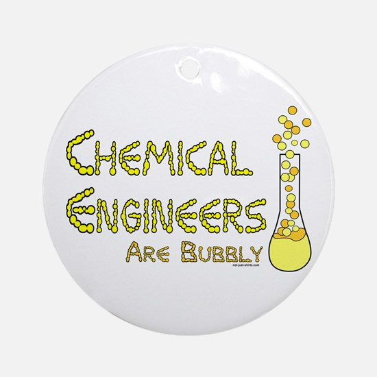 Chemical Engineers Ornament (Round)