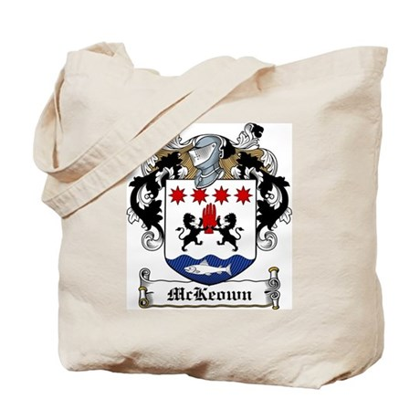 McKeown Family Crest Tote Bag