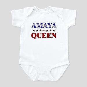 AMAYA for queen Infant Bodysuit