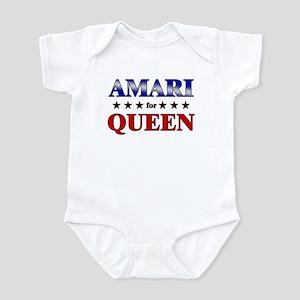 AMARI for queen Infant Bodysuit