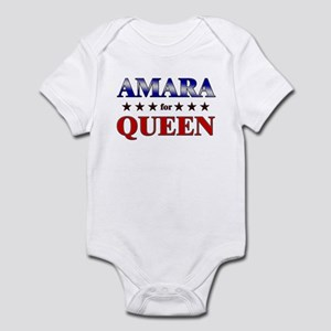AMARA for queen Infant Bodysuit