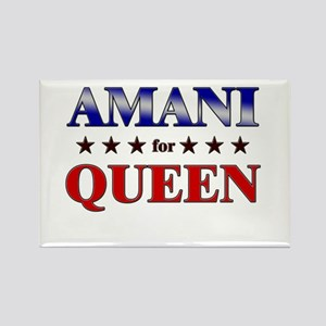 AMANI for queen Rectangle Magnet