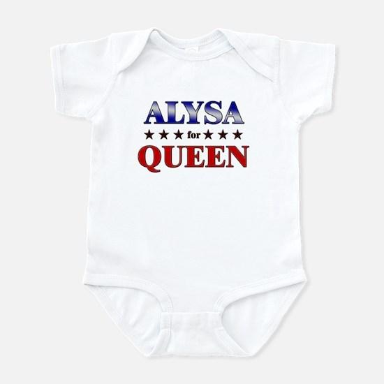ALYSA for queen Infant Bodysuit