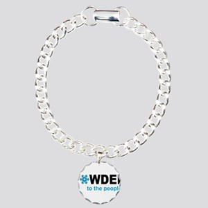 ski Charm Bracelet, One Charm