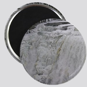 Wintertime Waterfall Magnet