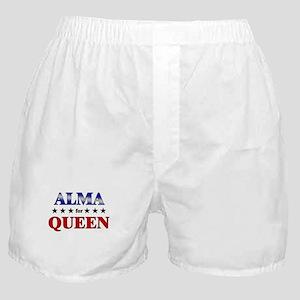 ALMA for queen Boxer Shorts