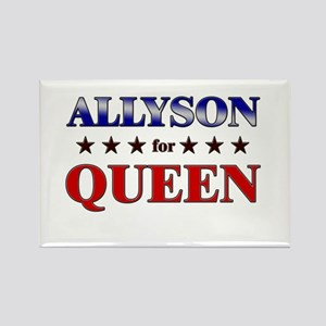 ALLYSON for queen Rectangle Magnet