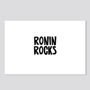 Ronin Rocks Postcards (Package of 8)