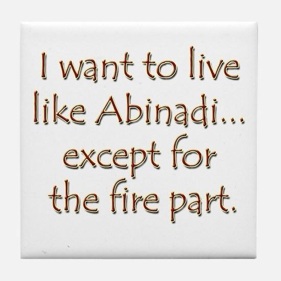 LDS Website- Abinadi Tile Coaster