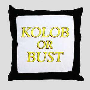LDS Planet- Kolob or Bust Shi Throw Pillow