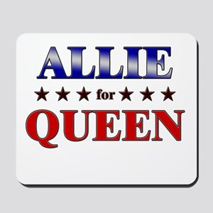 ALLIE for queen Mousepad