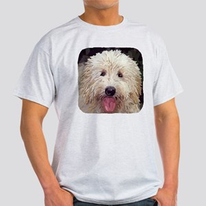 Golden Doodle Close up Light T-Shirt