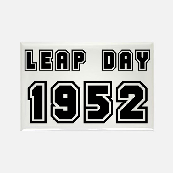 LEAP DAY 1952 Rectangle Magnet