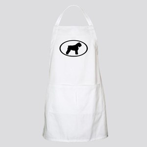 Bouvier Oval BBQ Apron
