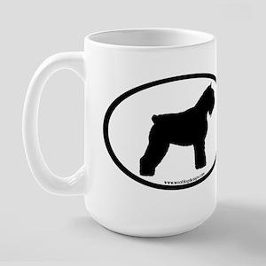 Bouvier Oval Large Mug