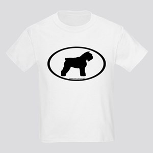 Bouvier Oval Kids Light T-Shirt